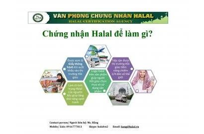 Lợi ích của chứng nhận Halal