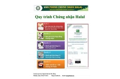 Quy trình chứng nhận Halal