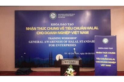 Mời tham dự khóa đào tạo Halal - Ngày 14-15/5/2019 tại Thành phố Hồ Chí Minh