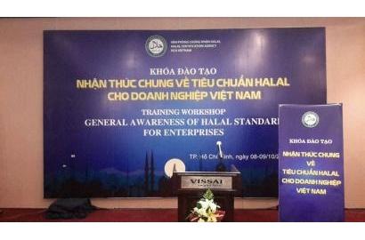 """Thông báo: KHÓA ĐÀO TẠO HALAL """"Nhận thức chung về tiêu chuẩn Halal cho các Doanh nghiệp Việt Nam"""" tại Thành phố Hà Nội."""