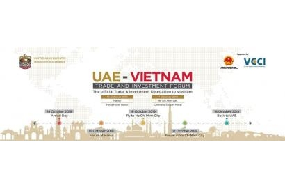 Diễn đàn doanh nghiệp Việt Nam – UAE sắp diễn ra tại Hà Nội và Thành phố Hồ Chí Minh